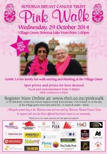 Pink Walk poster A4