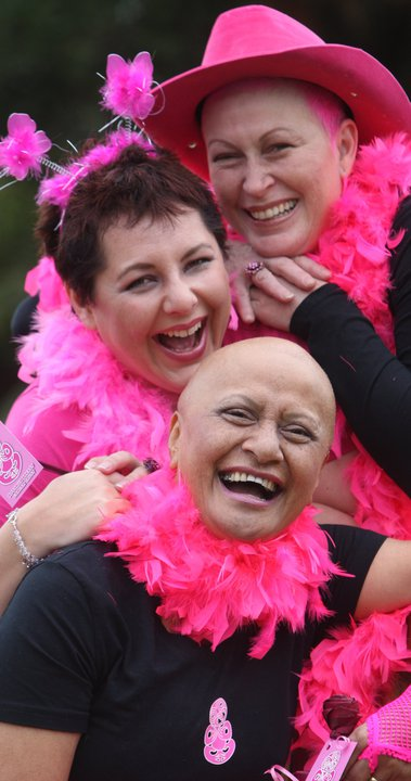 come and join the family fun of our annual PINK WALK : )