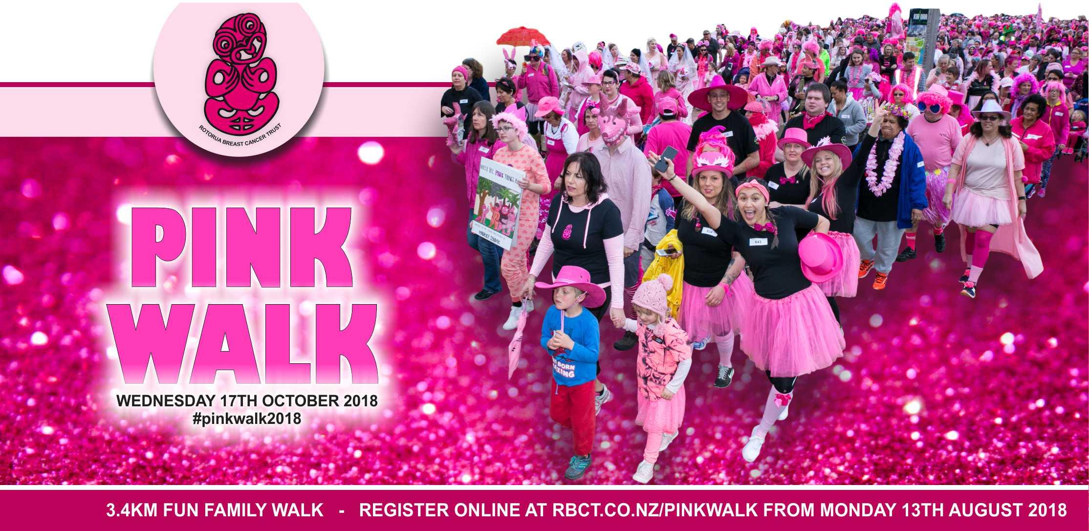 Rotorua Pink Walk 2018