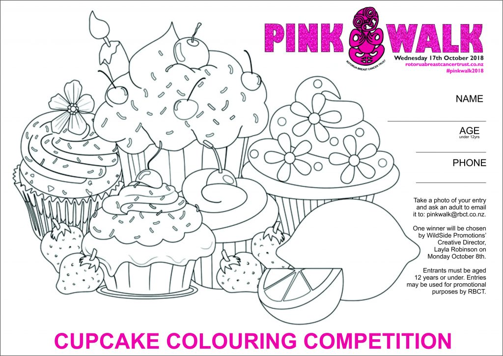 RBCT - 2018 Pink Walk Colouring Competition