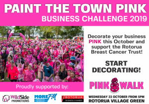 Paint the Town Pink for the Rotorua Breast Cancer Trust